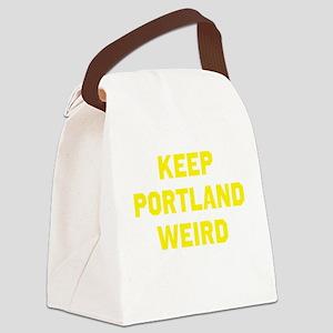 Keep Portland Weird Canvas Lunch Bag