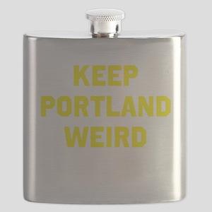 Keep Portland Weird Flask