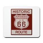 Bagdad Route 66 Mousepad