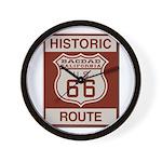 Bagdad Route 66 Wall Clock