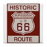 Bagdad Route 66 Tile Coaster