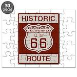 Bagdad Route 66 Puzzle