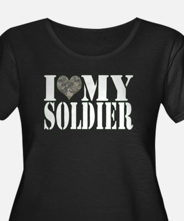 iheartmysoldier Plus Size T-Shirt