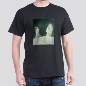 Cadaver's feet with identification T-Shirt