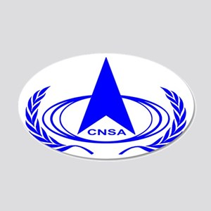 CNSA Logo 20x12 Oval Wall Decal
