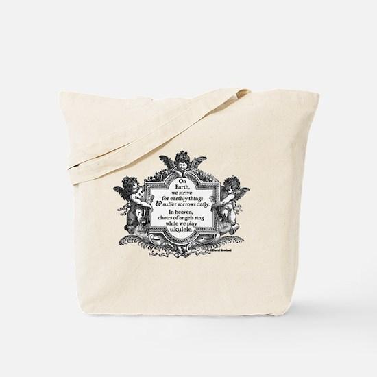 Ukulele Benediction Tote Bag