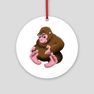 Baby Bigfoot Ornament (Round)