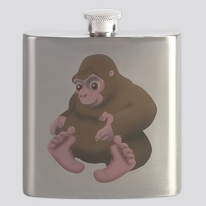 Baby Bigfoot Flask