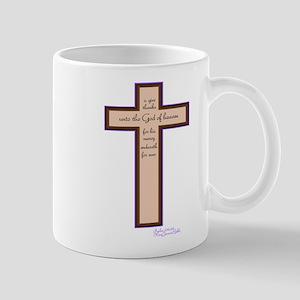 Psalm 136 26 Bible Verse Mug