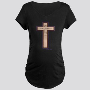 Psalm 136 26 Bible Verse Maternity T-Shirt