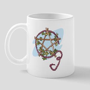 Lammas Pentagram Mug