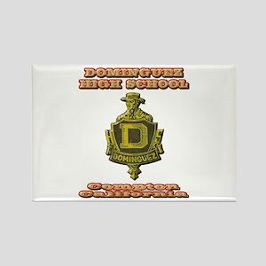 Dominguez High School Rectangle Magnet
