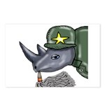 Sarge Rhino Postcards (Package of 8)