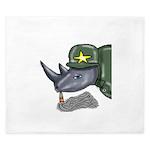 Sarge Rhino King Duvet
