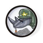 Sarge Rhino Wall Clock