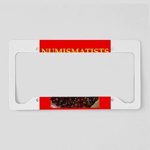 numismatist License Plate Holder