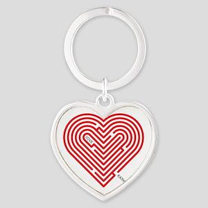I Love Kathleen Heart Keychain