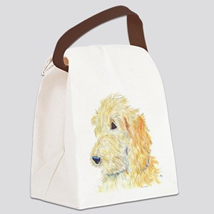 Cream Labradoodle 1 Canvas Lunch Bag