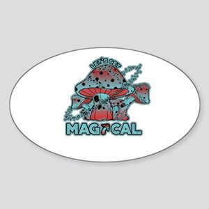 Magical Shrooms Sticker