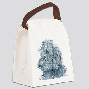 blackdoodle Canvas Lunch Bag