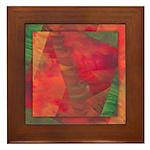 Autumn Fury Framed Tile