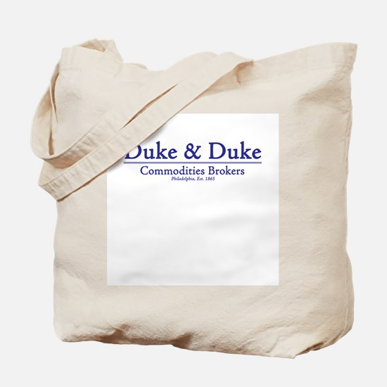 Duke & Duke Tote Bag
