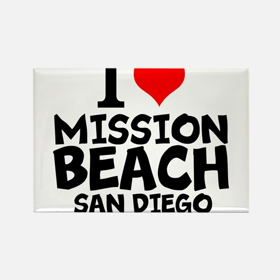 I Love Mission Beach, San Diego Magnets