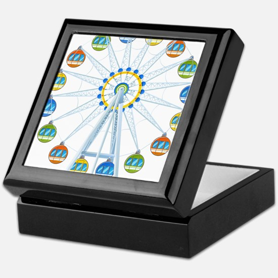 Ferris Wheel Keepsake Box