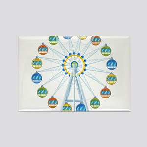 Ferris Wheel Rectangle Magnet