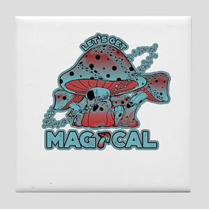 Magical Shrooms Tile Coaster