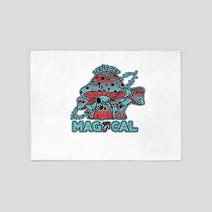 Magical Shrooms 5'x7'Area Rug