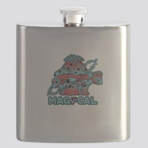 Magical Shrooms Flask