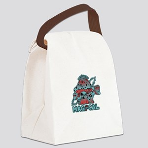 Magical Shrooms Canvas Lunch Bag
