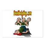 Official Dead Body Guy Postcards (Package of 8)