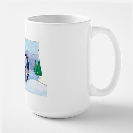 Penguin Family Large Mug