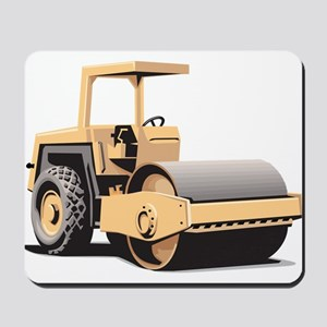 Paving Machine Mousepad