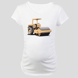 Paving Machine Maternity T-Shirt