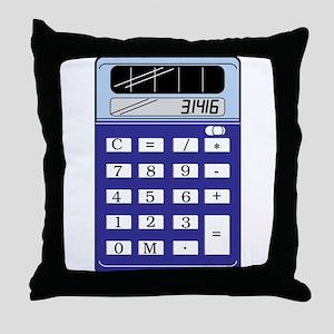 Calculator Throw Pillow