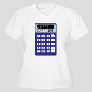 Calculator Plus Size T-Shirt