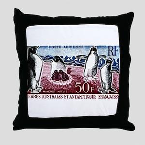 1963 French Southern Lands Adelie Penguins Stamp T