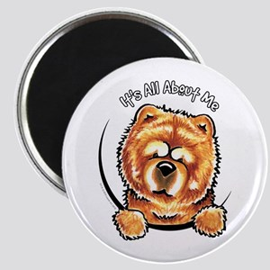 """Chow Chow IAAM 2.25"""" Magnet (10 pack)"""