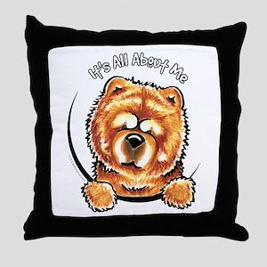 Chow Chow IAAM Throw Pillow