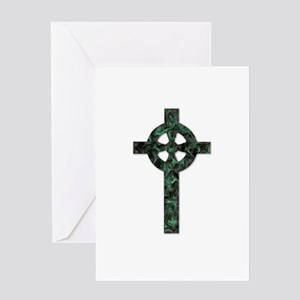 Celtic Cross Thank You Greeting Card