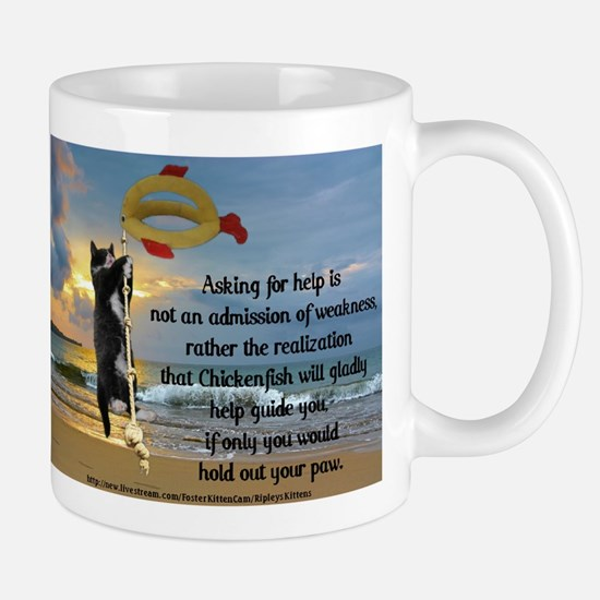 Ash Helped by Chickenfish Mug
