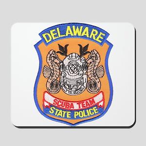 Delaware State Police Scuba T Mousepad