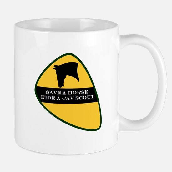 Save a horse ride a cav scout Mug