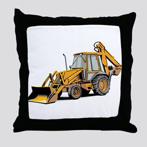 Earth Mover Throw Pillow