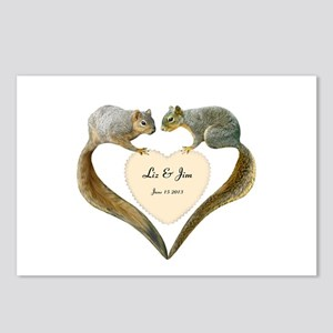 Love Squirrels Postcards (Package of 8)