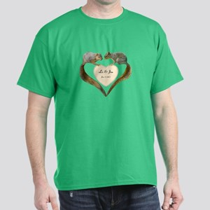 Love Squirrels Dark T-Shirt