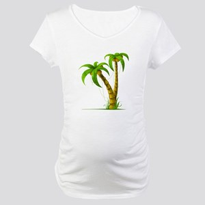 Cocunut Tree Maternity T-Shirt